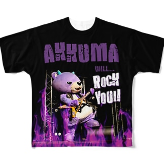 ROCK YOU!! Full graphic T-shirts
