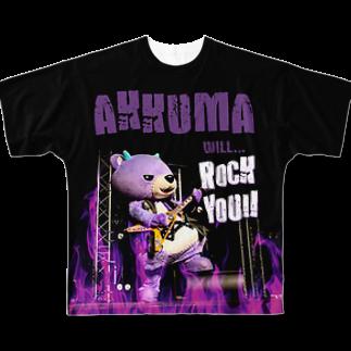 KOAKKUMAandAKKUMAのROCK YOU!! Full graphic T-shirts