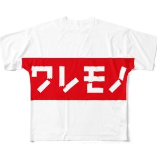ワレモノ™ All-Over Print T-Shirt