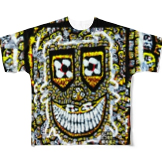 狂気のsmilemonster♥ Full graphic T-shirts