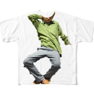 いけいけカッチー Full graphic T-shirts