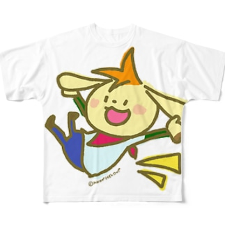 うっひゃぁ! Full graphic T-shirts