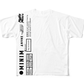 Psychopaint【pipeline】 Full graphic T-shirts