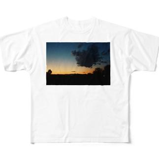 焼けてるやん空 Full graphic T-shirts