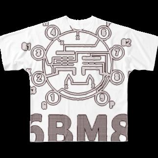 アズペイントの6BM6 Full graphic T-shirts