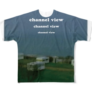 Channel View Full graphic T-shirts
