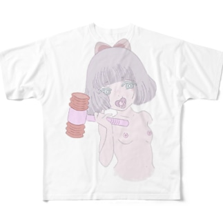 言わぬが花 Full graphic T-shirts