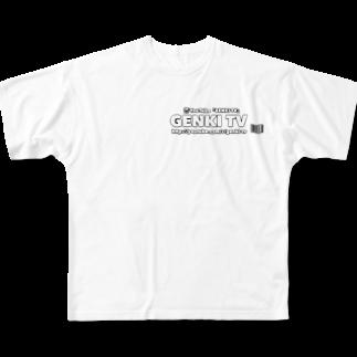 genkiの『GENKI TV』グッズ💕 Full graphic T-shirts