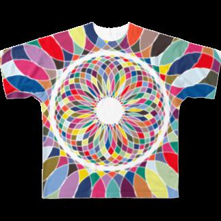 n-eClatちゃんの作品部屋の酸いも甘いも Full graphic T-shirts