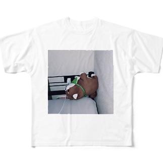 らいおん Full graphic T-shirts