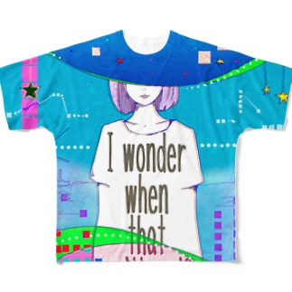 いつになったら終わるのかしら? Full graphic T-shirts