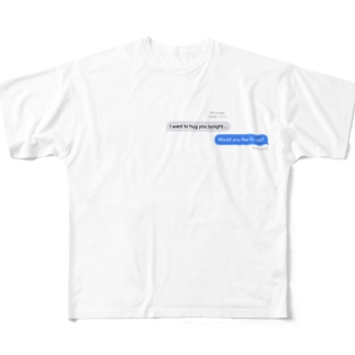 Messenger Full graphic T-shirts