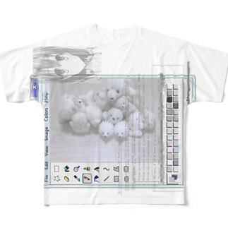 p別離j/_.li  Full graphic T-shirts