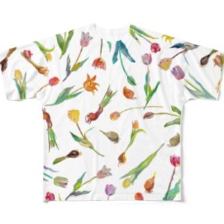 チューリップ狂時代 Full graphic T-shirts