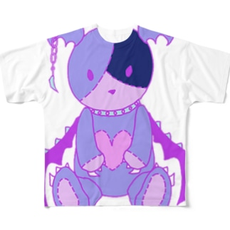 ベアラミ Full graphic T-shirts