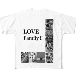 LOVE Family Full graphic T-shirts