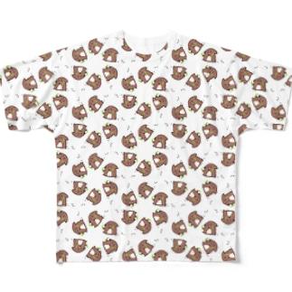 まるこいっつぱい Full graphic T-shirts