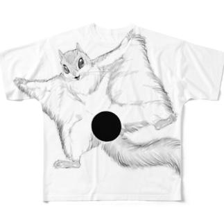 変態モモンガ Full graphic T-shirts