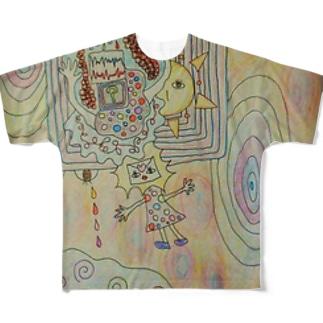 サラサラ Full graphic T-shirts