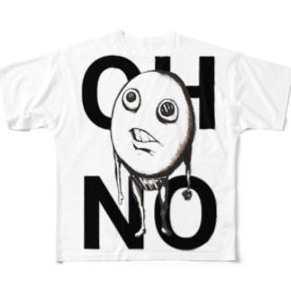 ヨシヲ Full graphic T-shirts