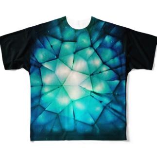耿々(コウコウ) Full graphic T-shirts