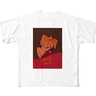 「Call to my heart 。」 Full graphic T-shirts