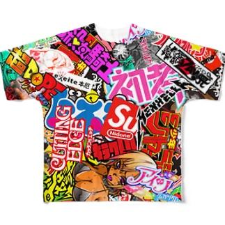 ボム Full graphic T-shirts