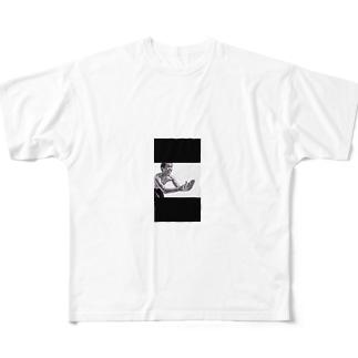 エガちゃん。 Full graphic T-shirts