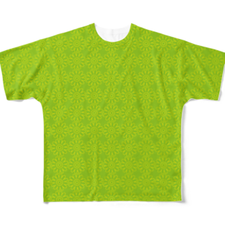 MOYOMOYO モヨモヨのモヨーP135 Full graphic T-shirts
