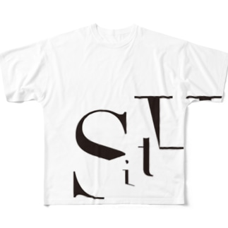 SitH LOGO(Plane) Full graphic T-shirts