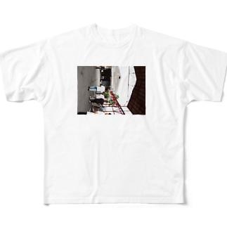 人々 Full graphic T-shirts