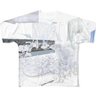 silver interior Full graphic T-shirts