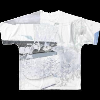 「ごめん々ね 」と言っのsilver interior Full graphic T-shirts