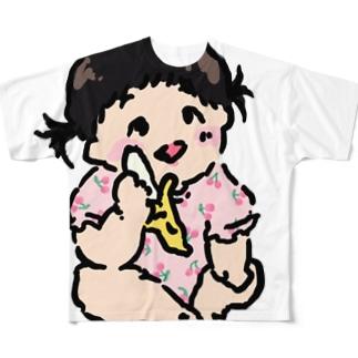 赤ちゃん Full graphic T-shirts