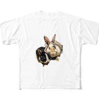 ベスと爽くん Full graphic T-shirts