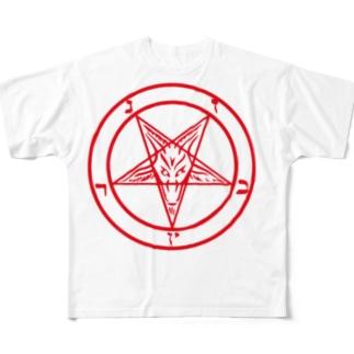 SATAN Full graphic T-shirts
