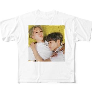 nnaruのSEVENTEEN Full graphic T-shirts