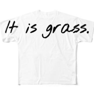 それは草グッズ Full graphic T-shirts