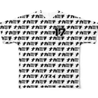 【販売済み】中道体協フリー/17番 Full graphic T-shirts