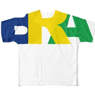 brasil Full graphic T-shirts