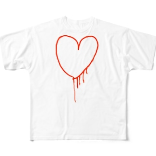 my heart Full graphic T-shirts