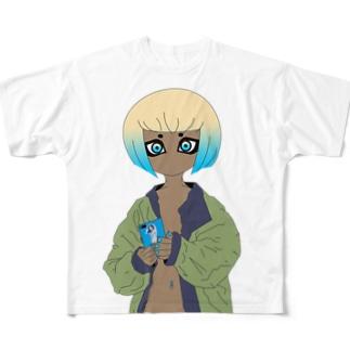 GRL 1 Full graphic T-shirts