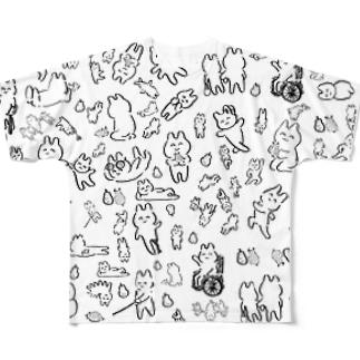 みんなわらわら Full graphic T-shirts