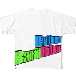 Hard Enduro Riders 3D Full graphic T-shirts