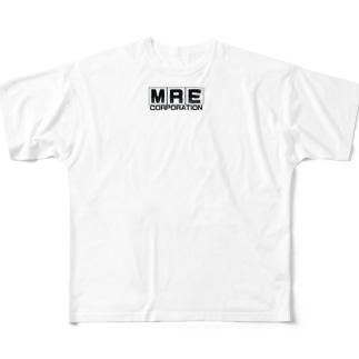 ノスタルジックメーカー(MRE) Full graphic T-shirts