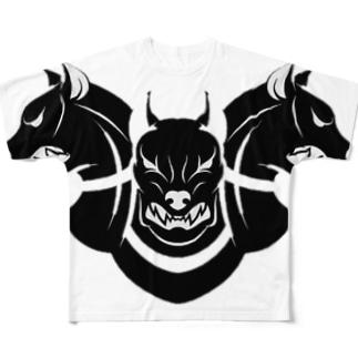 TRIO Full graphic T-shirts