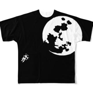 宇宙遊泳 Full graphic T-shirts