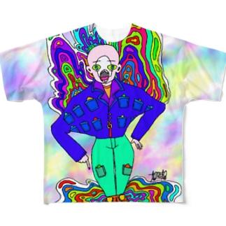 hallucination Full graphic T-shirts