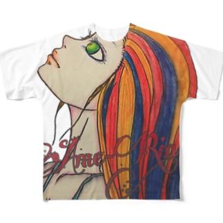 想い出の君…。 Full graphic T-shirts