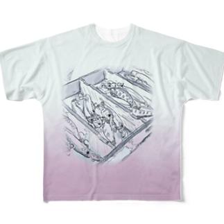 タックルボックスのやつ Full graphic T-shirts